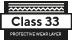 Classe 33 - couche d'usure